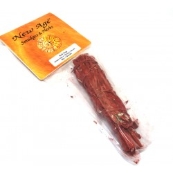 1x Red Sage Dragons Blood Smudge Stick